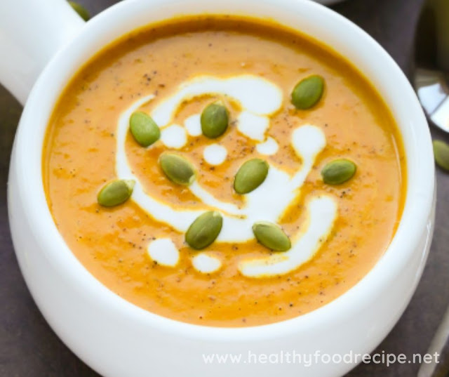 EASY CURRIED COCONUT PUMPKIN SOUP