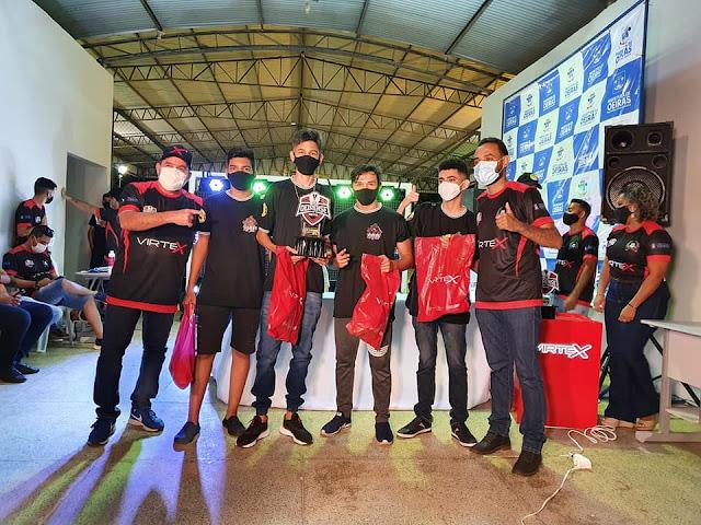 Vejam as equipes vencedoras da final da Liga Oeirense de Free Fire