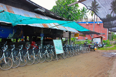 Bicycle rentals Si Phan Don - 4000 islands - Laos