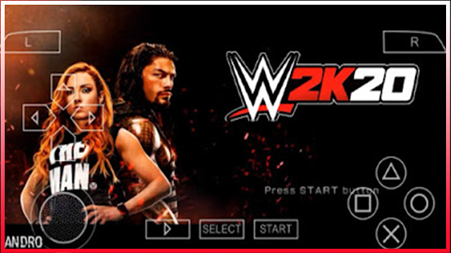 download WWE 2K20 on ppssp