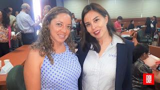 Viviana Salgado y Leticia Zárate