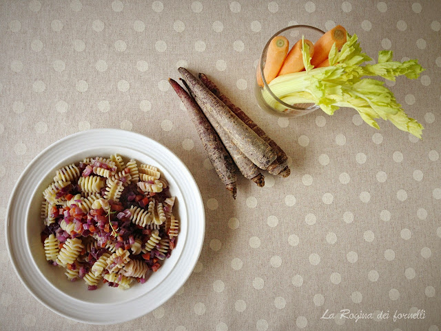 paste sedano, carote e cipolla