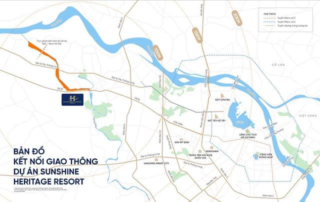 Phân khu The Tonkin Sunshine Heritage Resort cùng Smart Home Hà Nội hướng đến phát triển đô thị thông minh