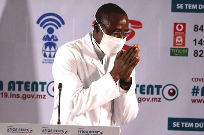 Última Notícia do dia: Subiu para 87 o número de casos positivos de Covid-19 em Moçambique
