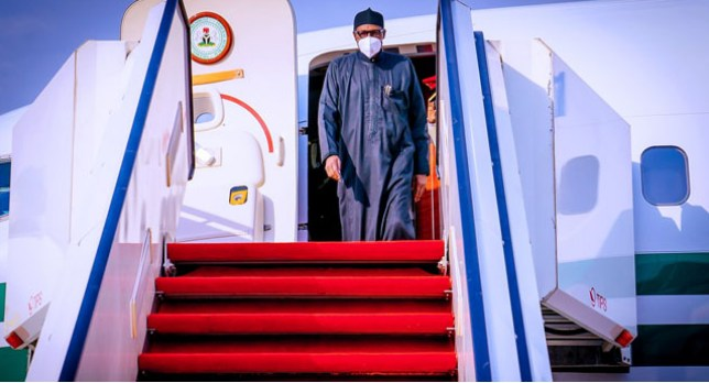 Buhari Returns From UK