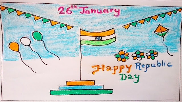 drawing on republic day for class 4  drawing on republic day for class 3  drawing on republic day for class 8  independence day drawing  republic government drawing  independence day drawing ideas  republic day poster  independence day drawing competition ideas