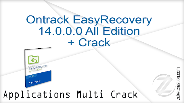 Ontrack EasyRecovery 14.0.0.0 All Edition + Crack