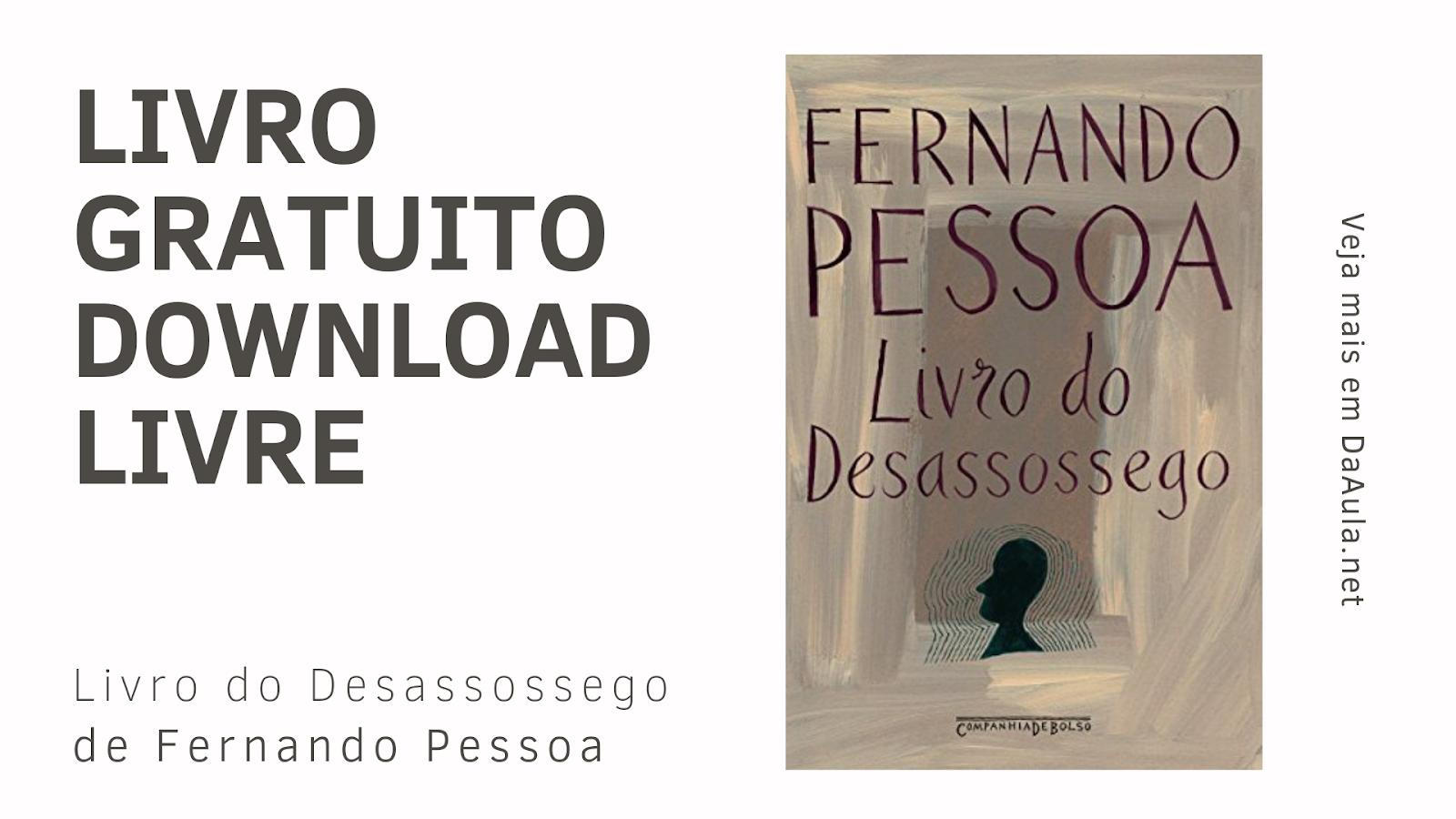 Livro: Livro do Desassossego de Fernando Pessoa