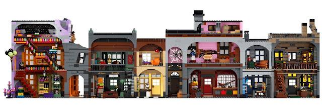 LEGO: Novo conjunto do Beco Diagonal possui mais de 5.500 peças! | Ordem da Fênix Brasileira
