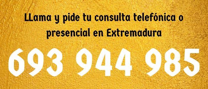 Tarotistas y videntes en Extremadura sin gabinete 24 horas