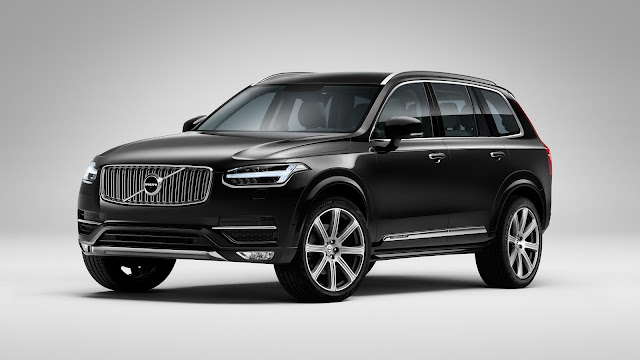 All New Volvo XC90 crossover More safe front view