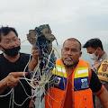Ditemukan Sejumlah Barang di Laut Diduga Pesawat Sriwijaya Air