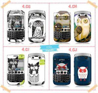 Katalog Skin Handphone OWL