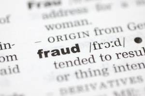 What does fraudulent mean