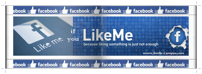 Custom Facebook Timeline Cover Photo Design Book - 1