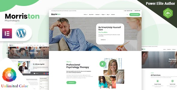 Psychologist & Counseling WordPress Theme