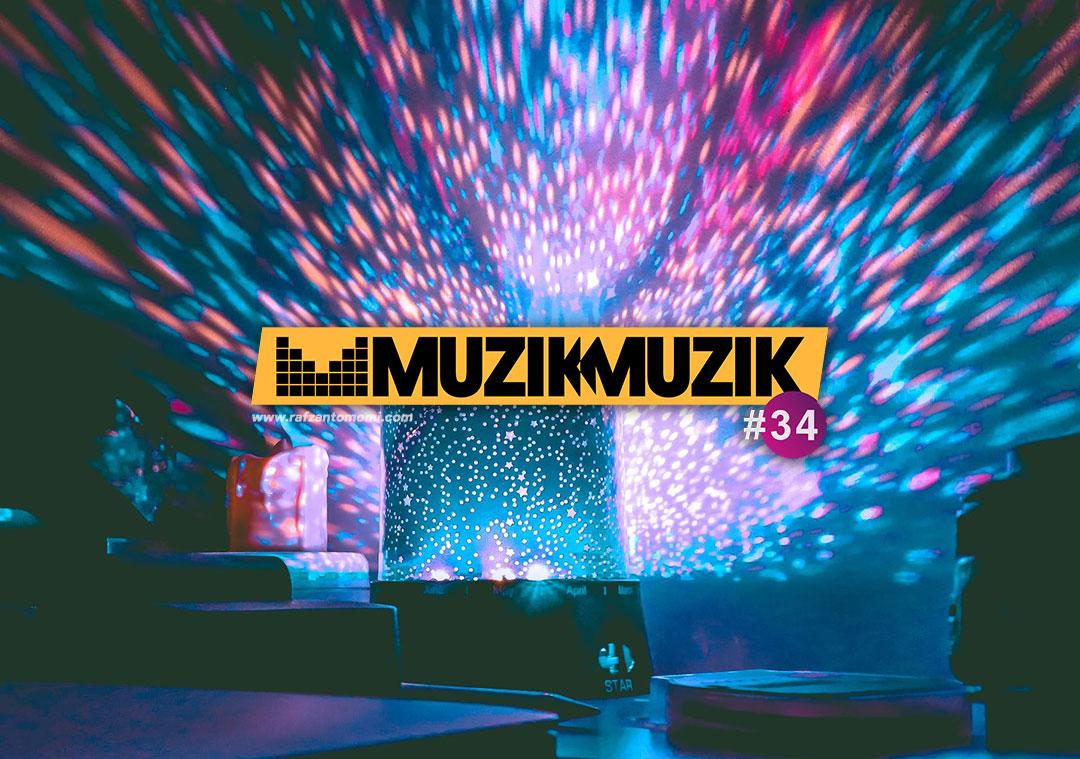 Separuh Akhir Muzik-Muzik 34 | Senarai 30 Lagu Separuh Akhir Muzik-Muzik 34