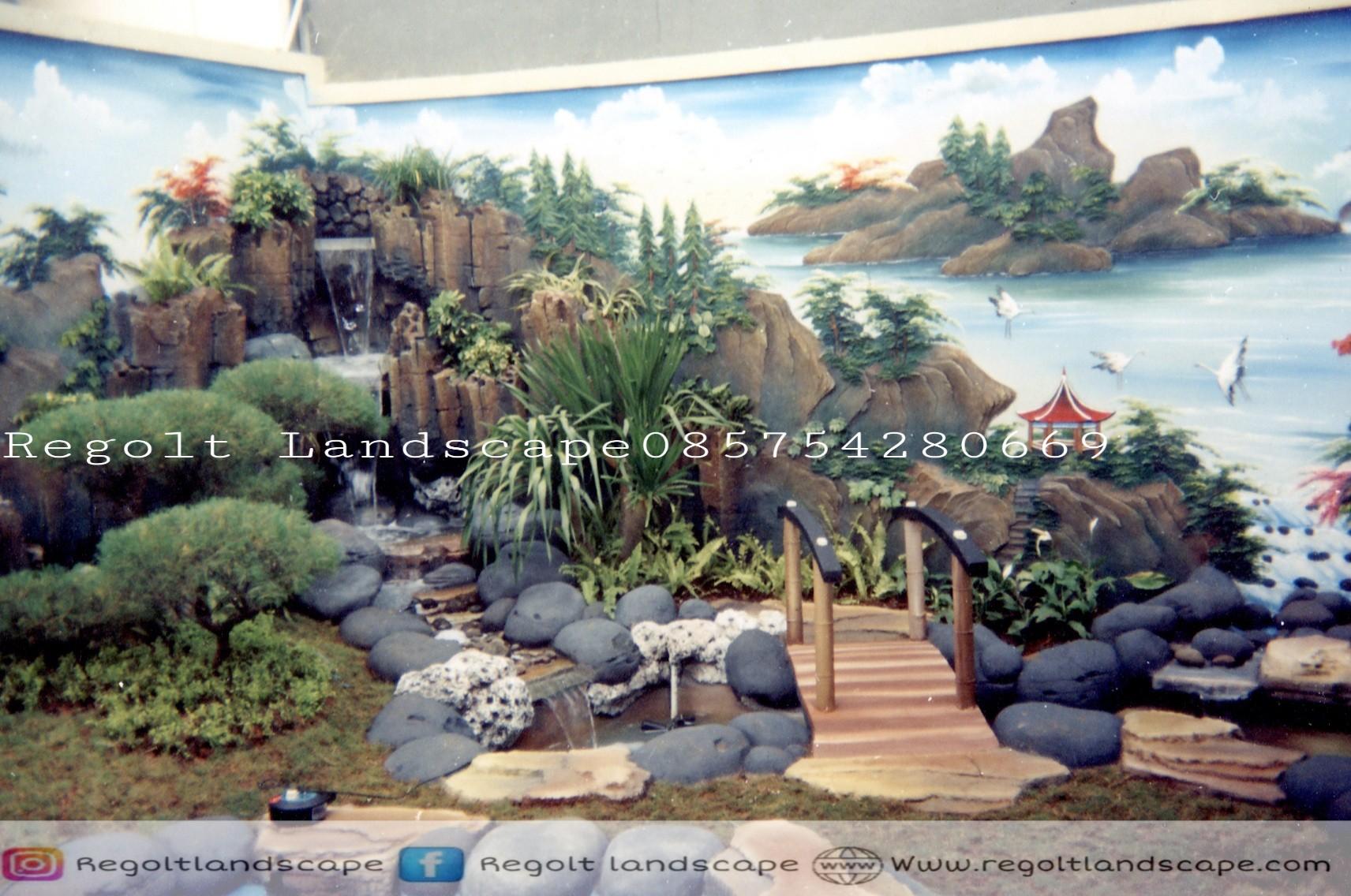Jasa Pembuatan Dekorasi Kolam Tebing, Dekorasi Relif Air Terjun Di Bojonegoro