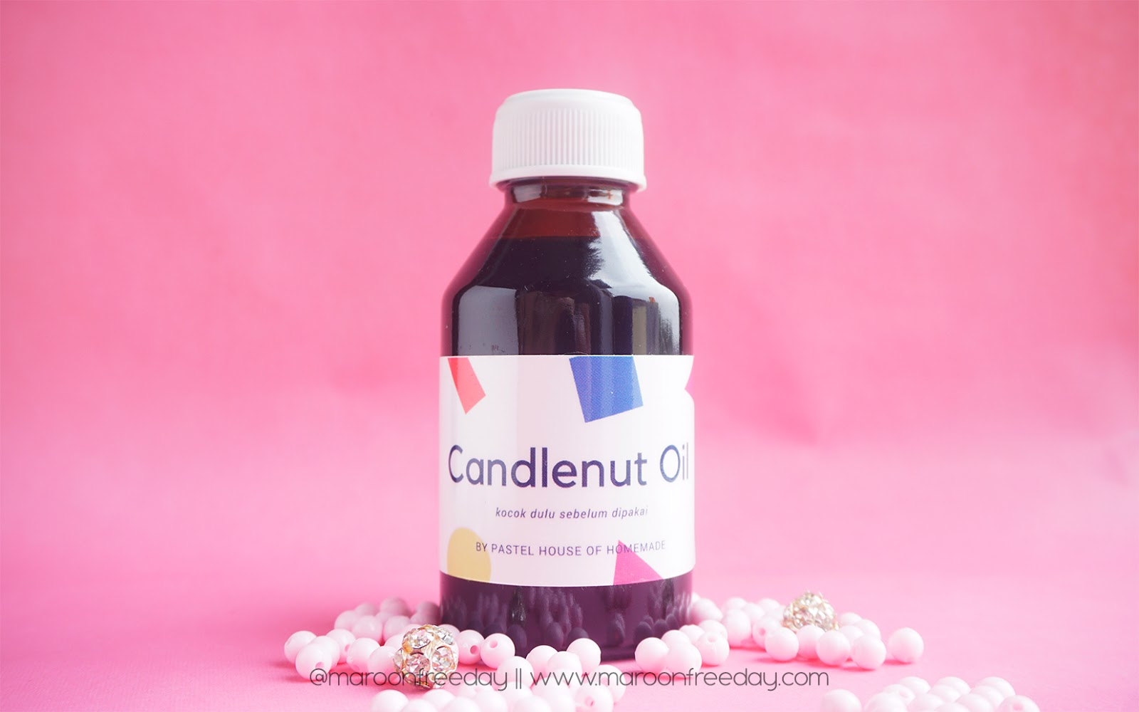 Review Candlenut Oil Minyak Kemiri Untuk Menyuburkan Rambut By Pastel Maroon Freeday