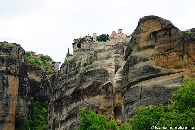 Great Meteoron Monastery Meteora Central Greece Attractions