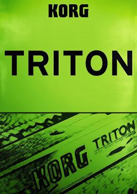 Cover do Plugin KORG - TRITON