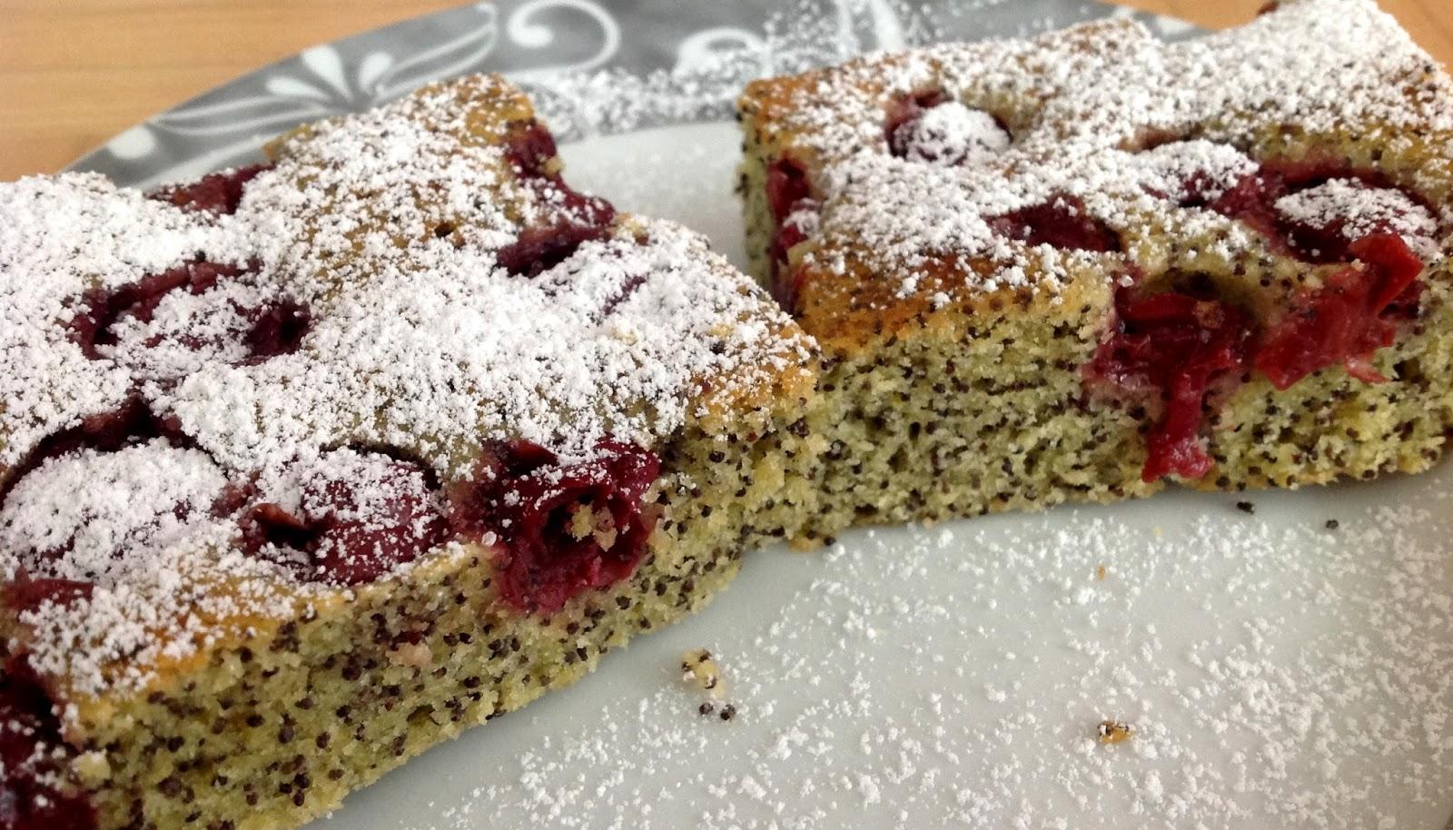 Mohn Kirschkuchen Susi S Bakery