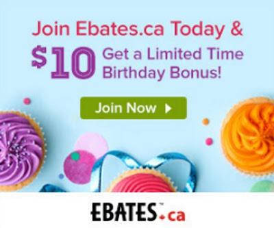 Ebates Free $10 Bonus Special Birthday Promotion