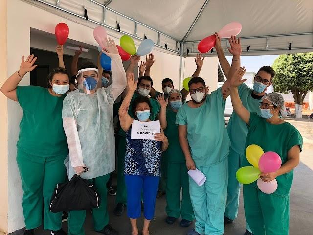 Hospital Regional São Luís de Montes Belos já atendeu pacientes com Covid-19 de 44 cidades