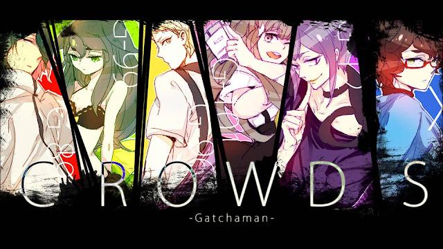 Gatchaman%2BCrowds Top 15 Anime Super Hero