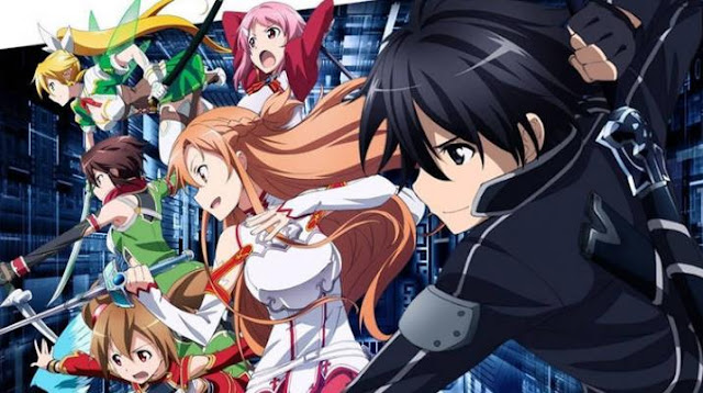 Sword Art Online - Anime Action Romance Harem Terbaik