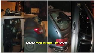 ( بالفيديو و الصور )تهشيم وسرقة مجموعة كبيرة من السيارات من طرف عصابة بالمروج 1