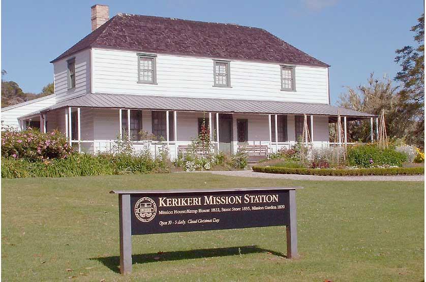 The Mission House (aka Kemp House) in Kerikeri