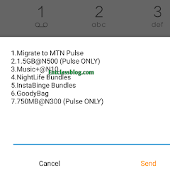 How To Activate MTN Pulse 1.5GB For 500 and 750MB For 300 Naira