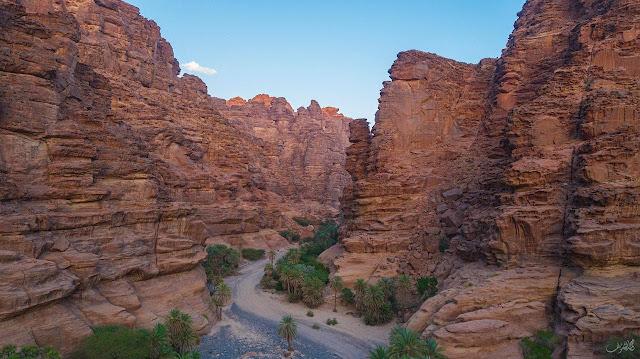 """السعودية، وادي """"الديسه""""، السياحية في السعودية، تبوك، حربوشة نيوز"""