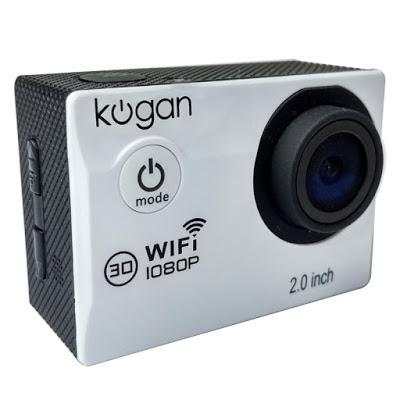 Kogan Sports Action Camera memeberikan solusi dan pilihan bagi kalian yang sangat menginginkan action camera namun hanya memiliki budget yang sedikit. Kogan dibekali dengan kamera 12 MegaPixel, Layar LCD serta WIFI.