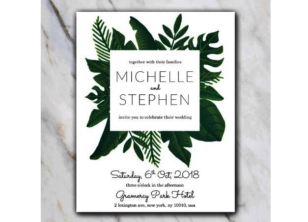 template undangan pernikahan word simple minimalis