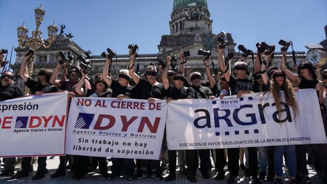 Periodistas argentinos dicen 'NO' al cierre de medios