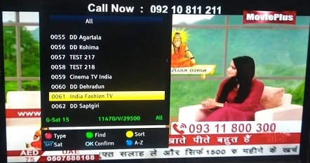 India Fashion TV renamed as Movie Plus Channel on 24th September 2019