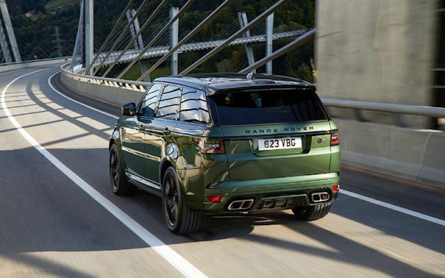 Range Rover Sport 2020 làm mới cản sau của đuôi xe