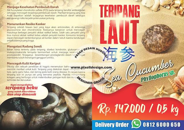 Iklan Brosur Promosi Makanan Kesehatan
