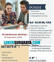 Bursa Kerja Surabaya di PT. Republik Indonesia September 2020