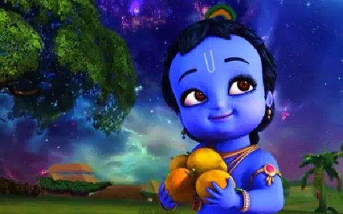 Krishna Animation Movie and Show  on The Q