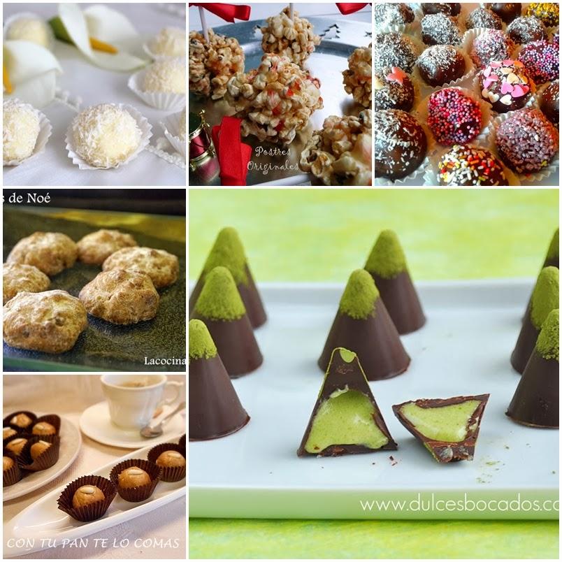 bocaditos dulces para navidad
