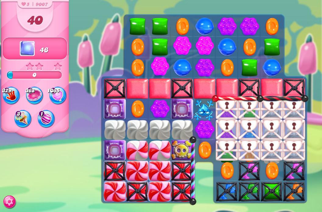 Candy Crush Saga level 9007