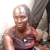 Breaking: Middle-aged child Kidnapper woman caught and brutalized by angry youths. (Video)