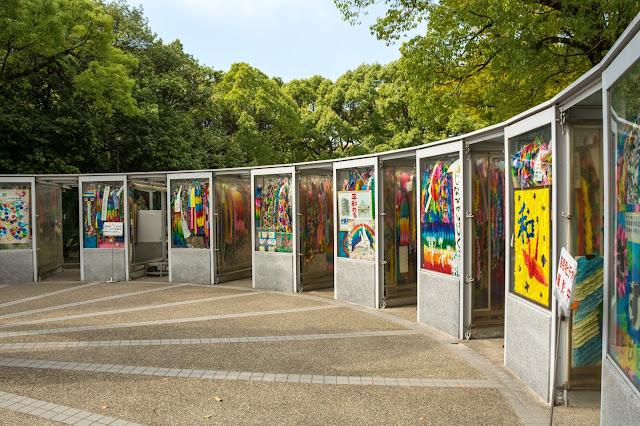 Japonsko, cestování, Hirošima, Muzeum atomové bomby, bomba, Hiroshima, Children Memorial
