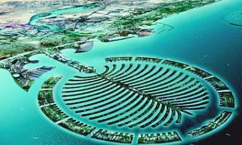 جزيرة النخلة في دبي