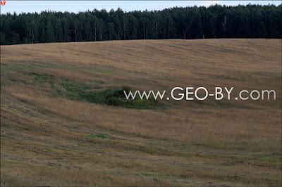 Wojciechowo (Novospask). Tenth located German bunker from the First World War. Last look