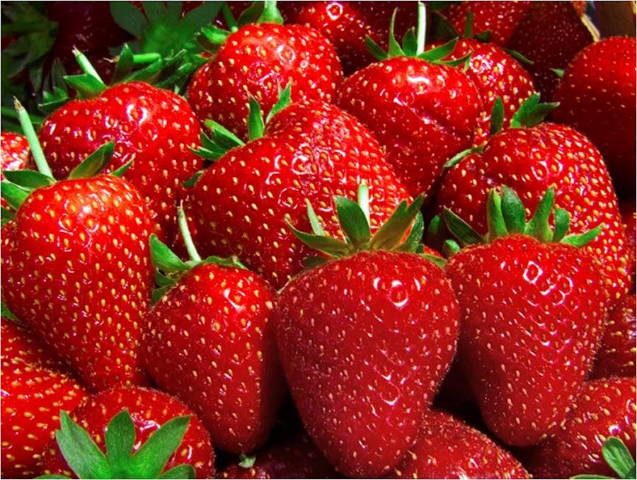 Fresas para mejorar el estado de ánimo