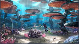 Subnautica PS3 Background